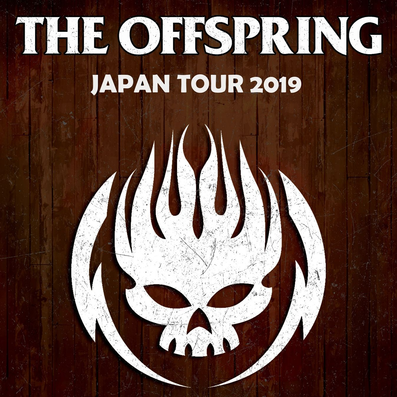 THE OFFSPRING JAPAN TOUR 2019