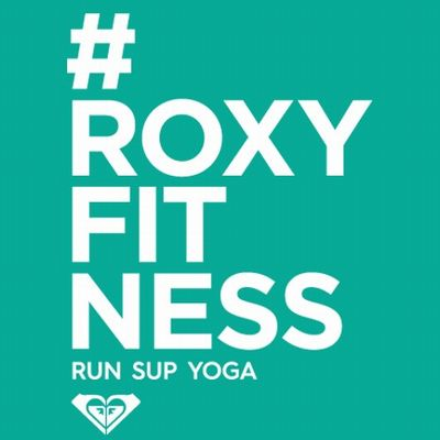 #ROXYFITNESS RUN SUP YOGA in OKINAWA